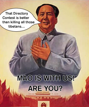 Mao is with directorycontest.com